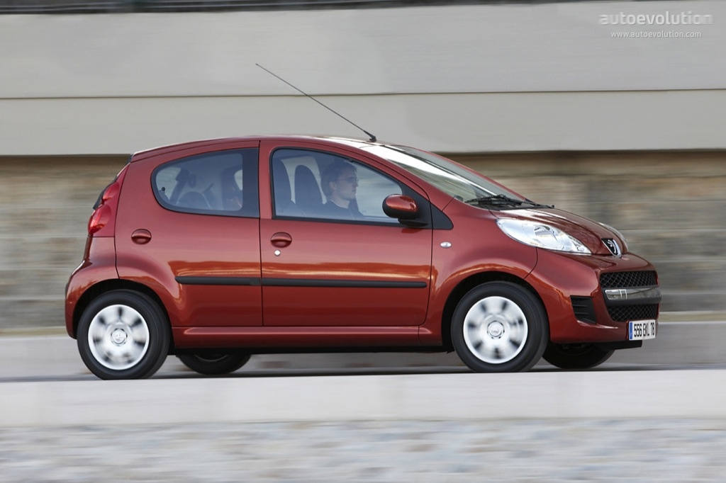 peugeot 107 5 doors specs 2008 2009 2010 2011 2012