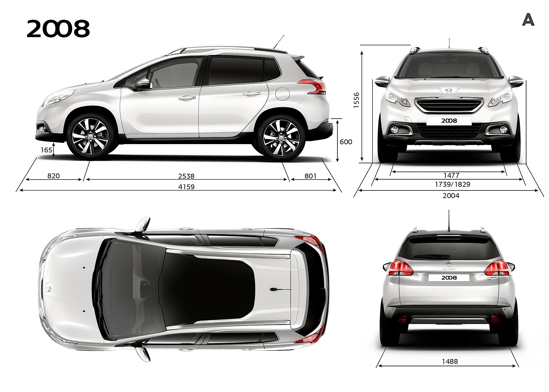 peugeot 2008 specs photos 2013 2014 2015 2016 autoevolution. Black Bedroom Furniture Sets. Home Design Ideas