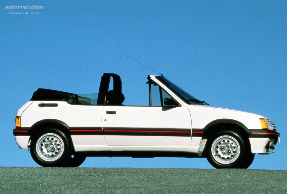 Peugeot 205 Cti Specs 1986 1987 1988 1989 1990 1991