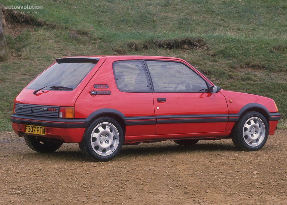 Peugeot 205 Gti 1984 1985 1986 1987 1988 1989 1990