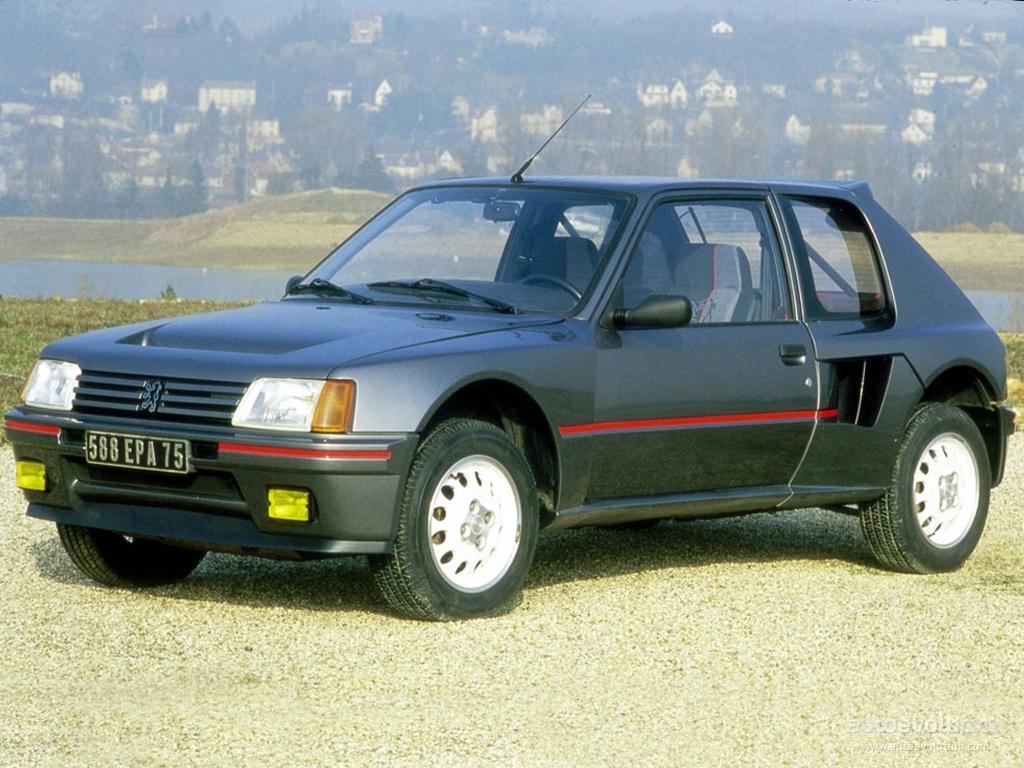 peugeot 205, 1985