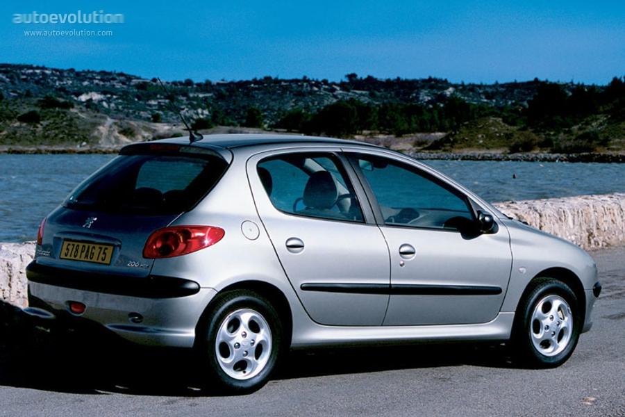 Peugeot 206 5 Doors Specs 2002 2003 2004 2005 2006
