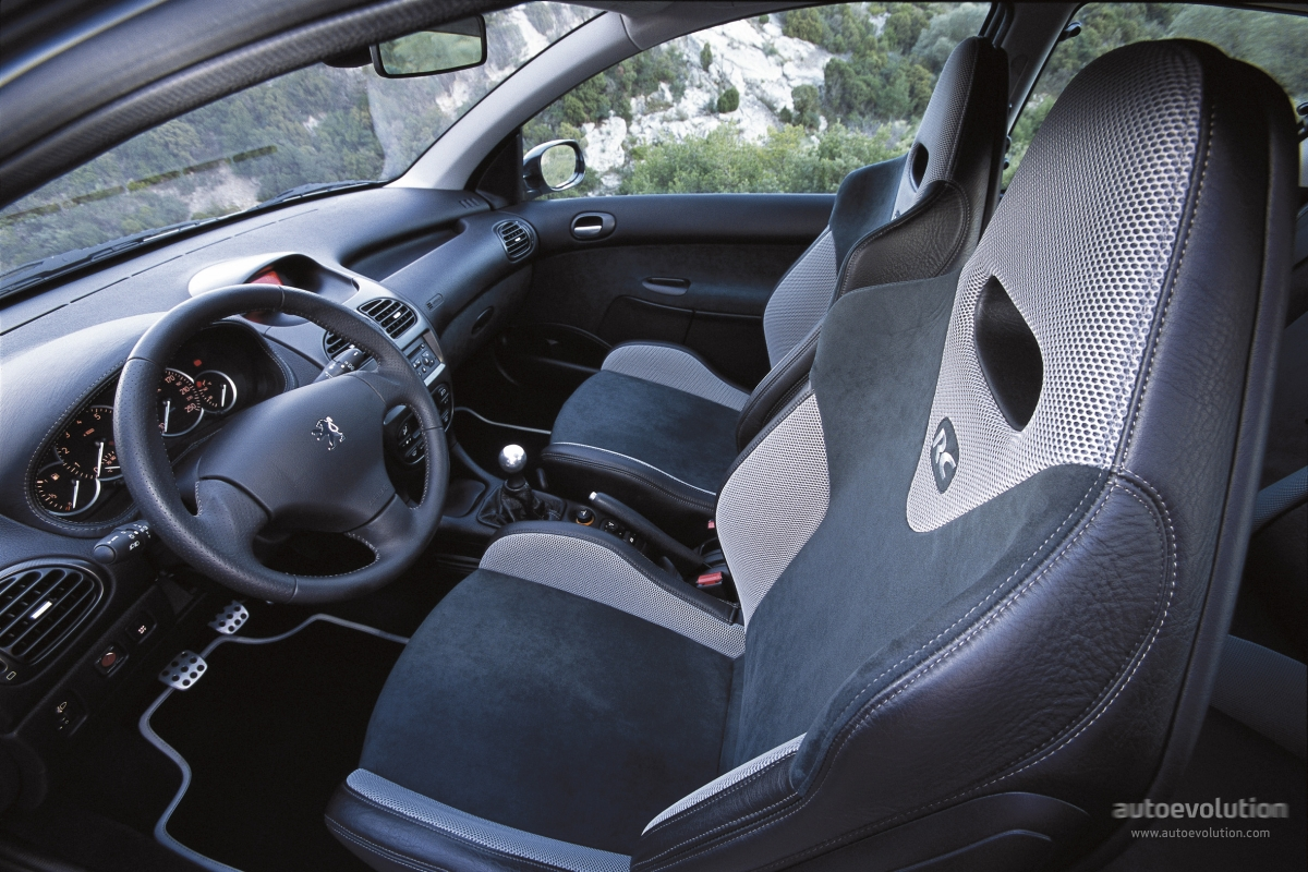 peugeot 206 rc specs 2003 2004 2005 2006 autoevolution. Black Bedroom Furniture Sets. Home Design Ideas
