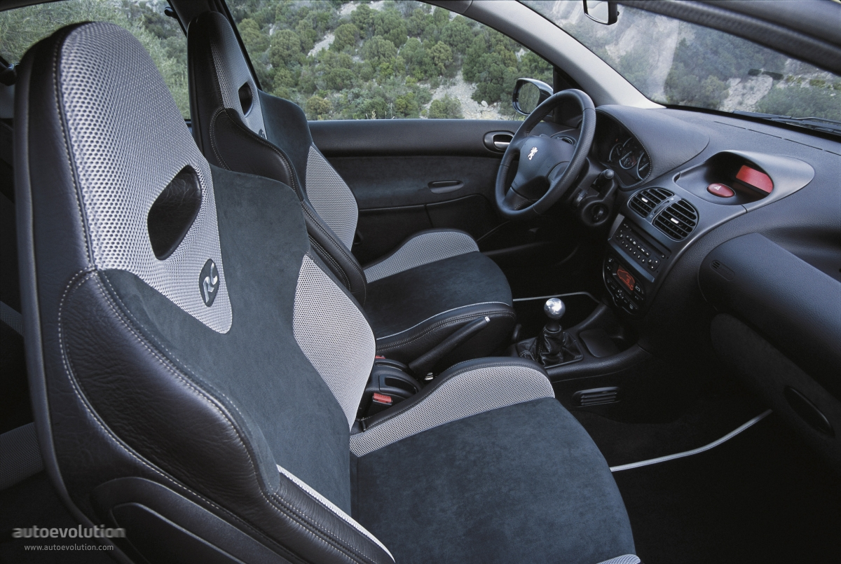 peugeot 206 rc specs photos 2003 2004 2005 2006 autoevolution. Black Bedroom Furniture Sets. Home Design Ideas