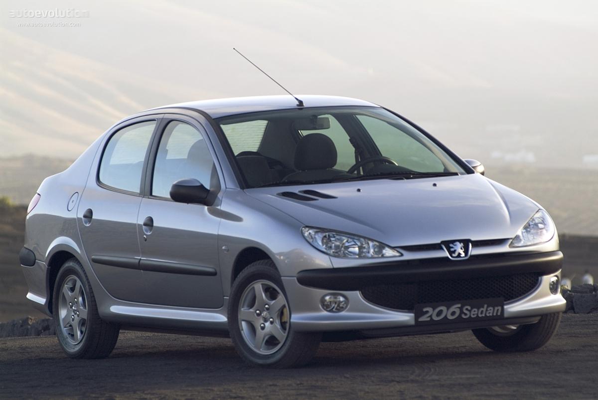 PEUGEOT 206 Sedan - 2006, 2007, 2008, 2009, 2010, 2011 ...