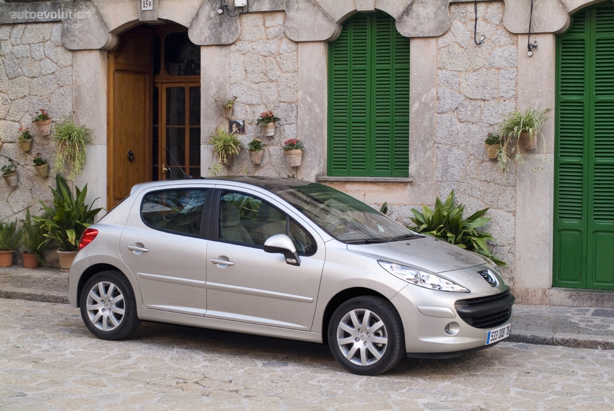peugeot 207 5 doors 2006 2007 2008 2009 autoevolution. Black Bedroom Furniture Sets. Home Design Ideas