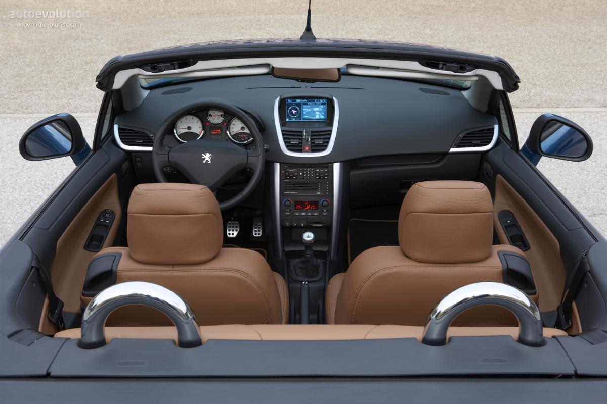 Peugeot 207 cc specs 2007 2008 2009 autoevolution for Peugeot 207 interior