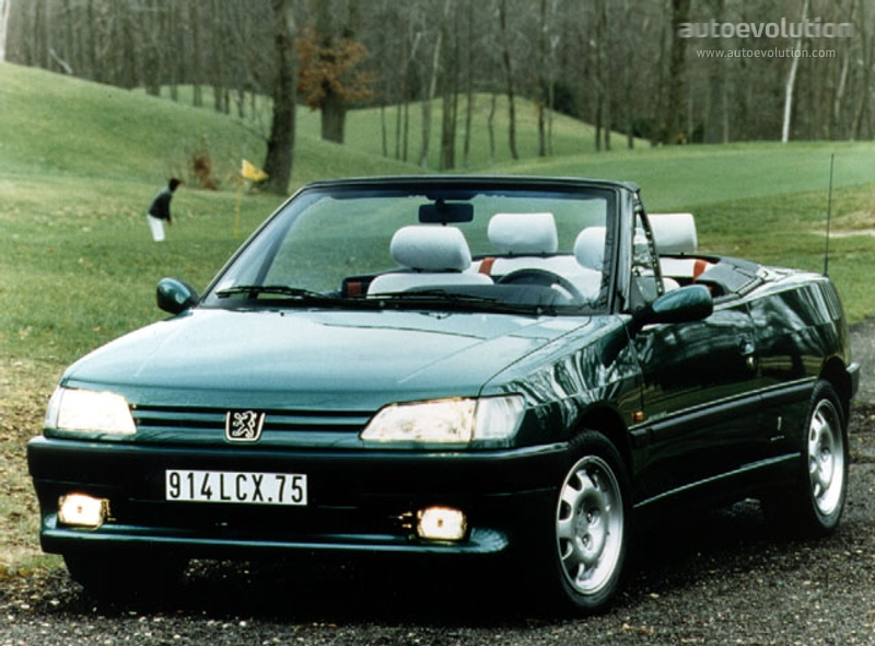 peugeot 306 cabriolet specs photos 1994 1995 1996. Black Bedroom Furniture Sets. Home Design Ideas