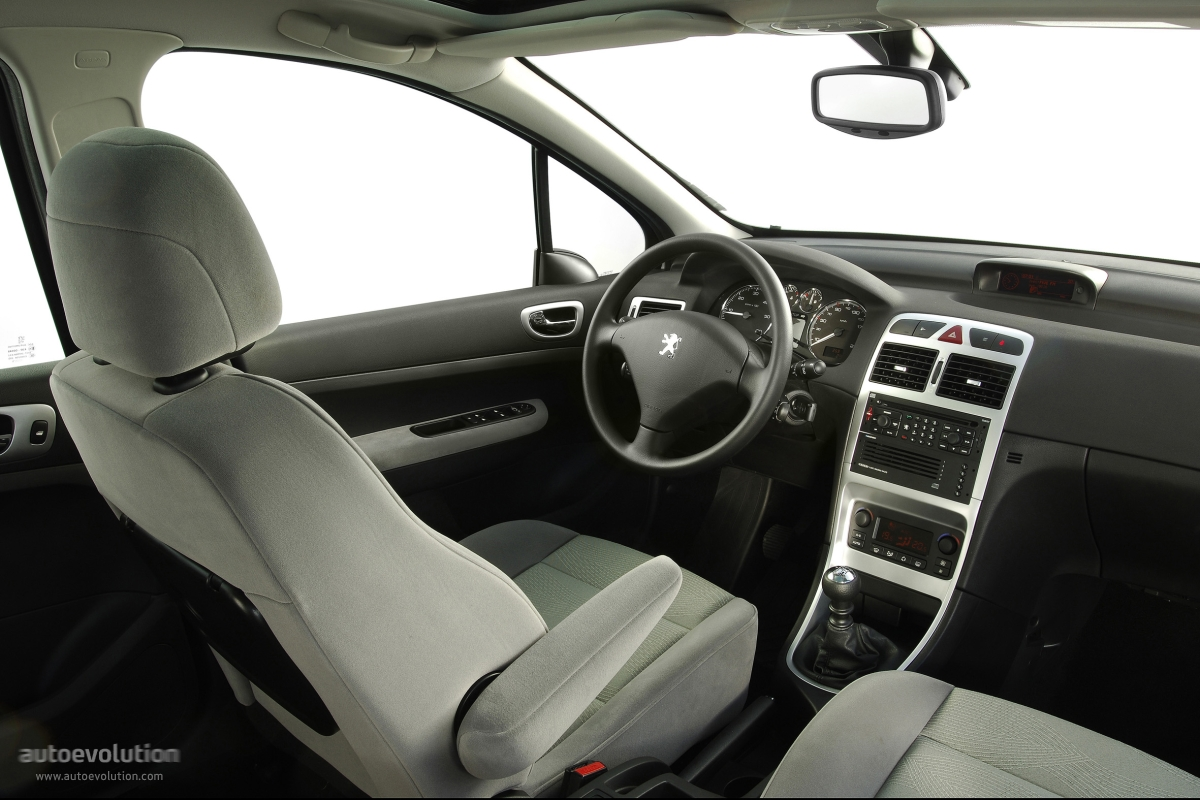 Peugeot 307 sw 2005 2006 2007 2008 autoevolution for Interieur 307 sw