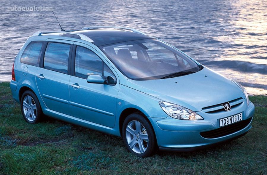Peugeot 307 Sw Specs - 2002  2003  2004  2005