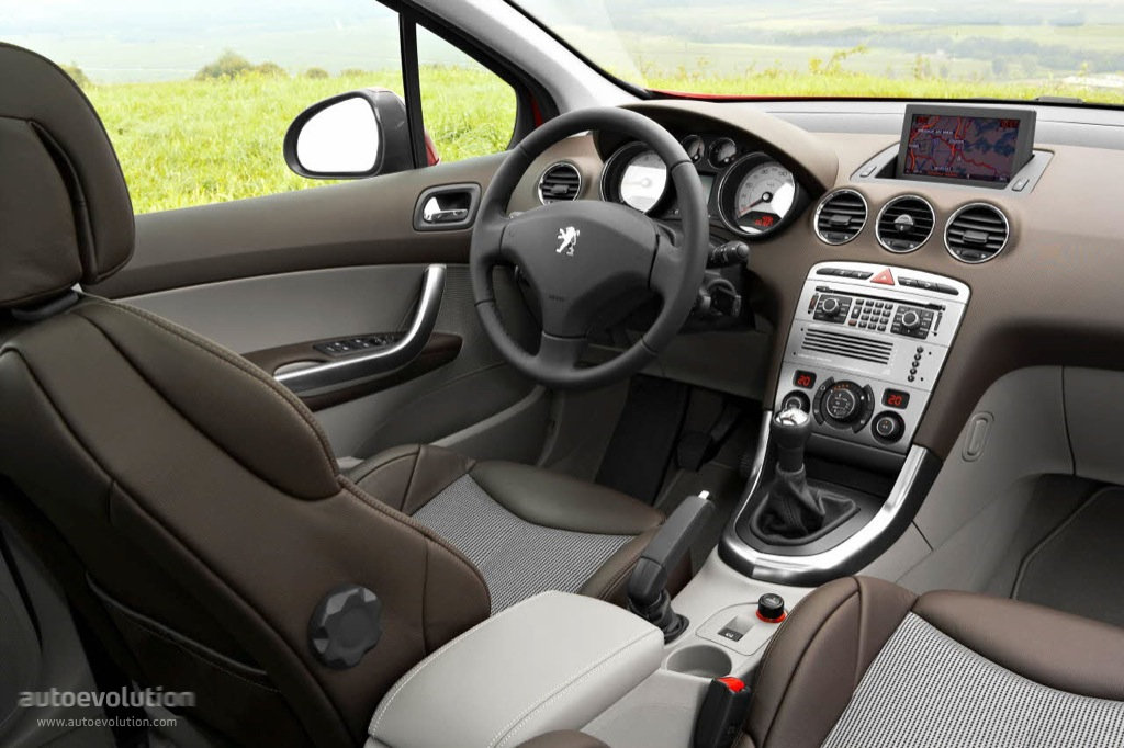 Peugeot 308 5 doors 2008 2009 2010 2011 2012 2013 for Interieur 307 sw