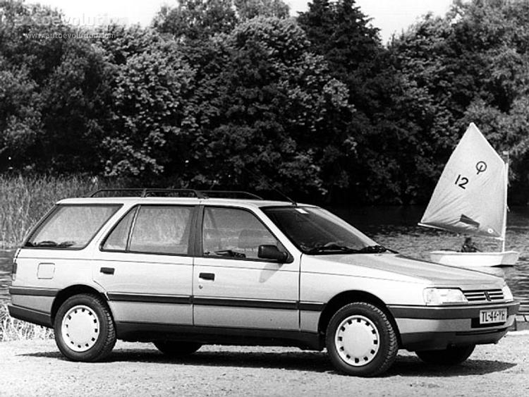 504 GR 1//43 Voiture Miniature Diecast Model Car LAQV1 Lot de 2 Peugeot 405 SR