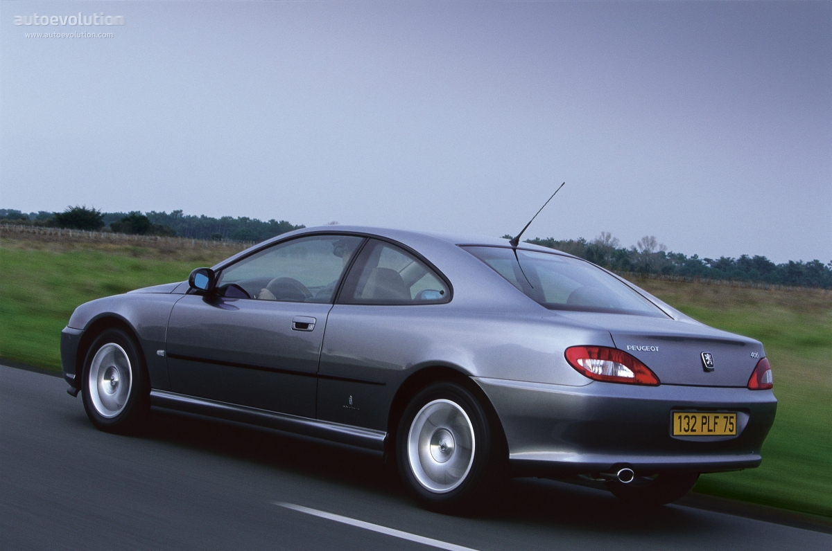 Peugeot 406 Coupe 2003 on evolution engine