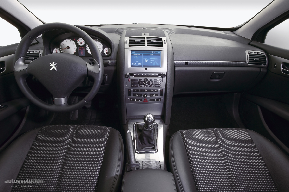 Peugeot 407 coupe review 2008 images for Interieur 806
