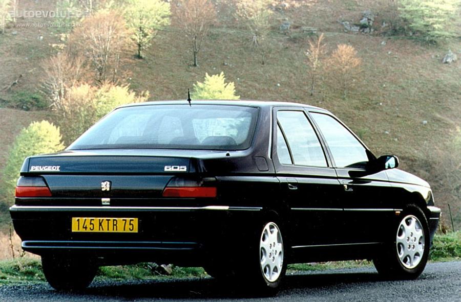 Fiche technique Peugeot 605 de 1989 à 2000
