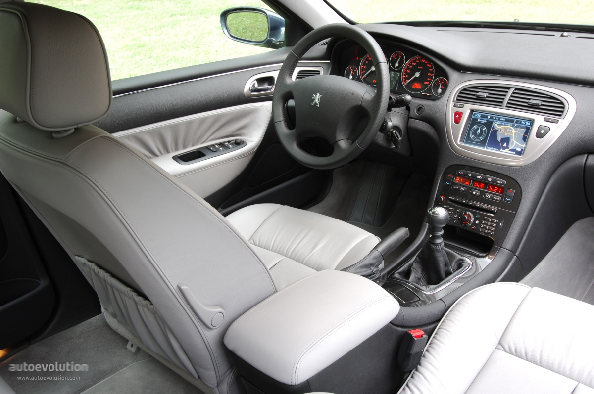 Peugeot 607 2005 2010 for Interieur 607