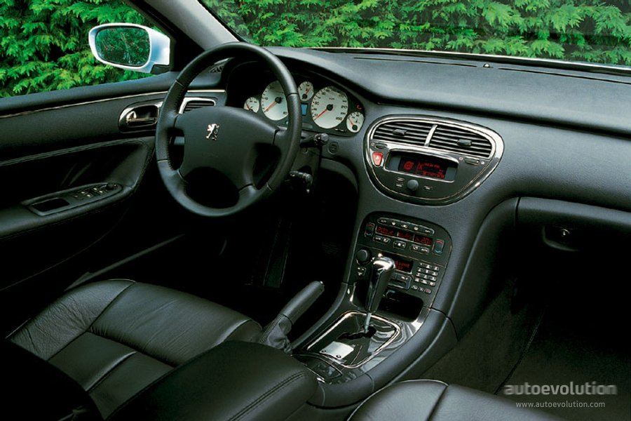 Peugeot 607 2000 2001 2002 2003 2004 2005 for Interieur 607