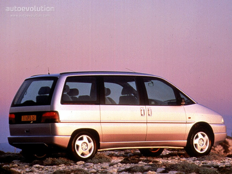 PEUGEOT 806 - 1994, 1995, 1996, 1997, 1998 - autoevolution