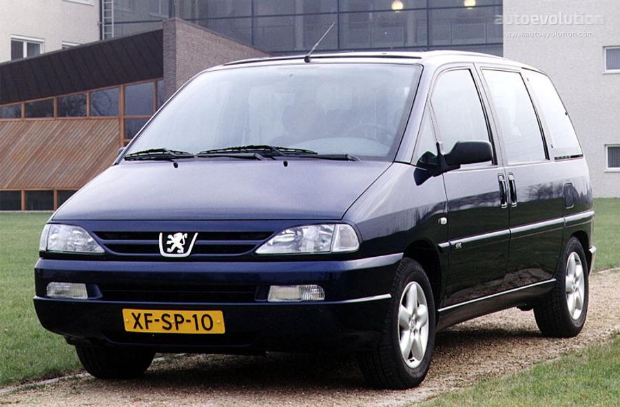 PEUGEOT 806 specs - 1998, 1999, 2000, 2001, 2002 - autoevolution