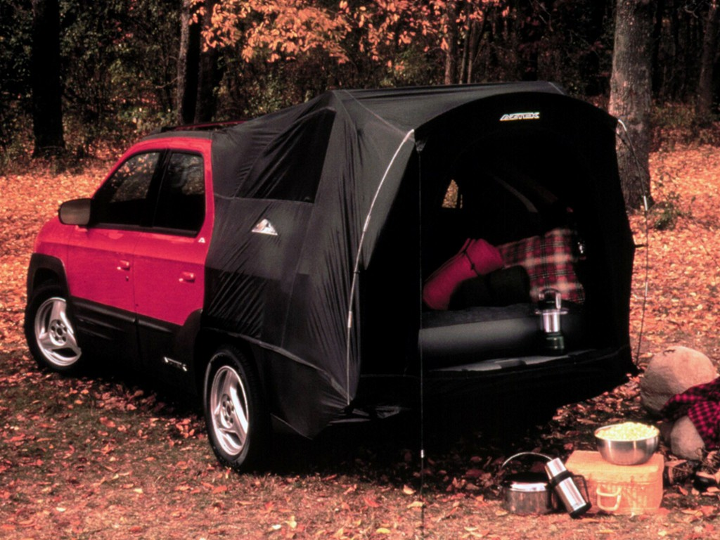 PONTIAC Aztek specs & photos - 2000, 2001, 2002, 2003 ...