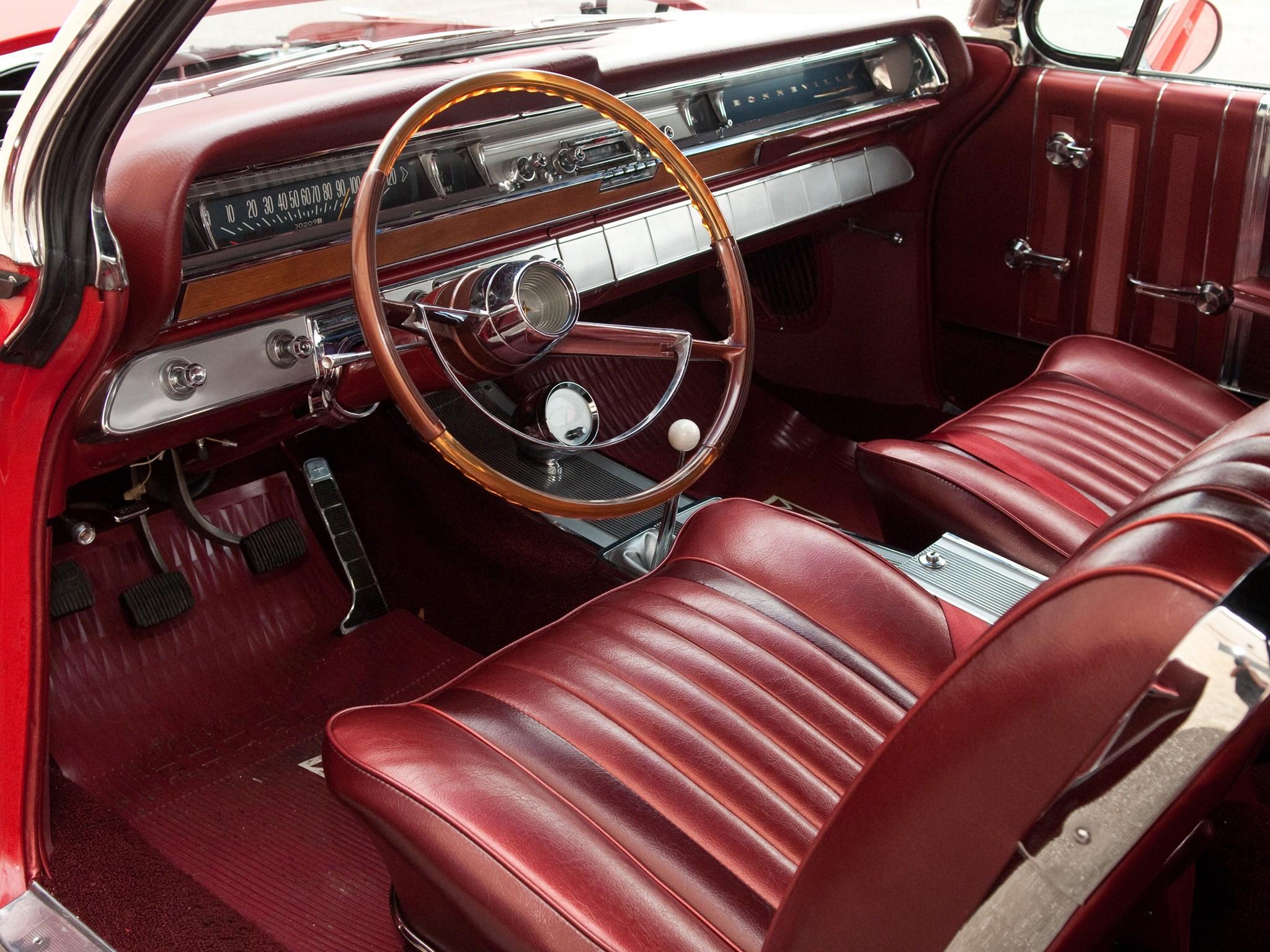Pontiac Bonneville Specs 1961 1962 1963 1964