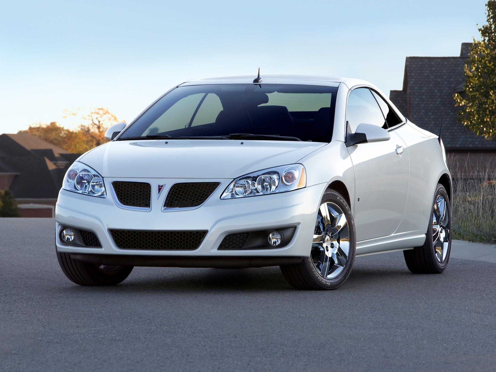 Pontiac G6 Convertible Specs