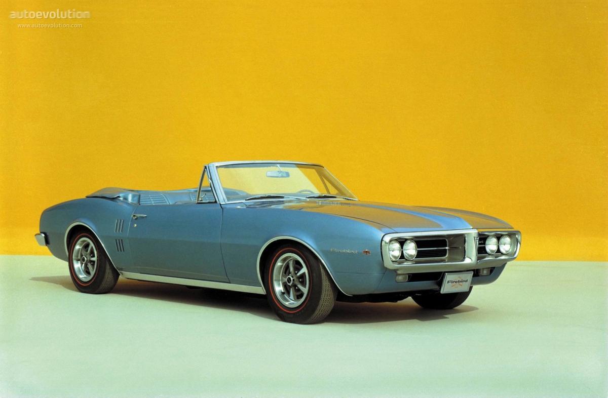 PONTIAC Firebird specs - 1967, 1968, 1969 - autoevolution