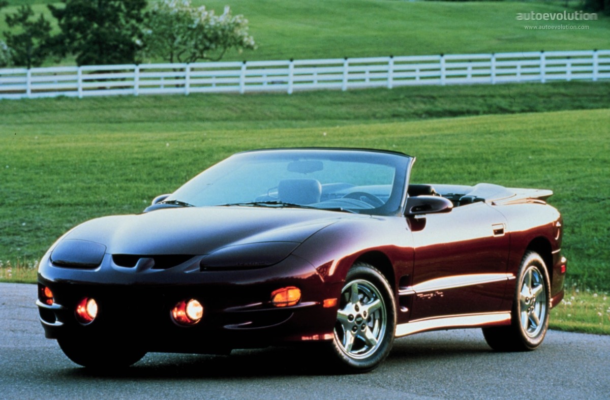 Pontiac Firebird Convertible 2000 on 5 7 engines gmc