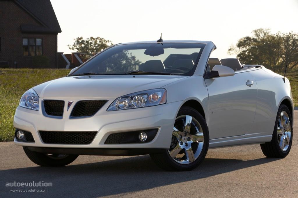 Pontiac G6 Convertible Specs 2008 2009 2010
