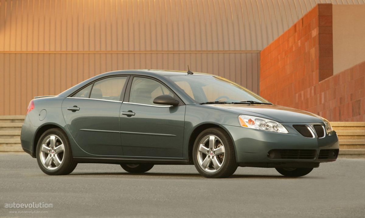 Pontiac G6 Sedan 2004 2005 2006 2007 2008