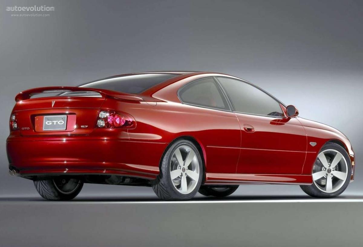 PONTIAC GTO specs & photos - 2003, 2004, 2005, 2006 - autoevolution