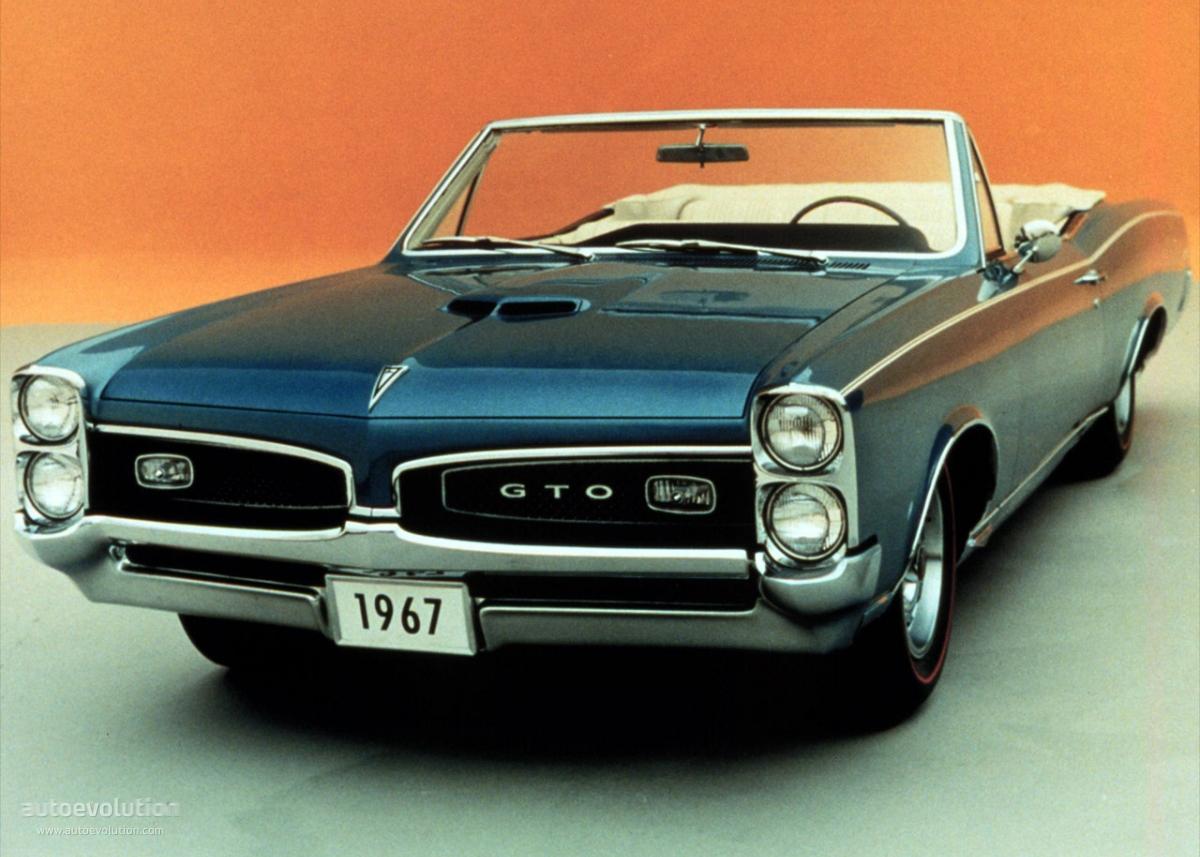 Pontiac gto convetrible 1967 1968