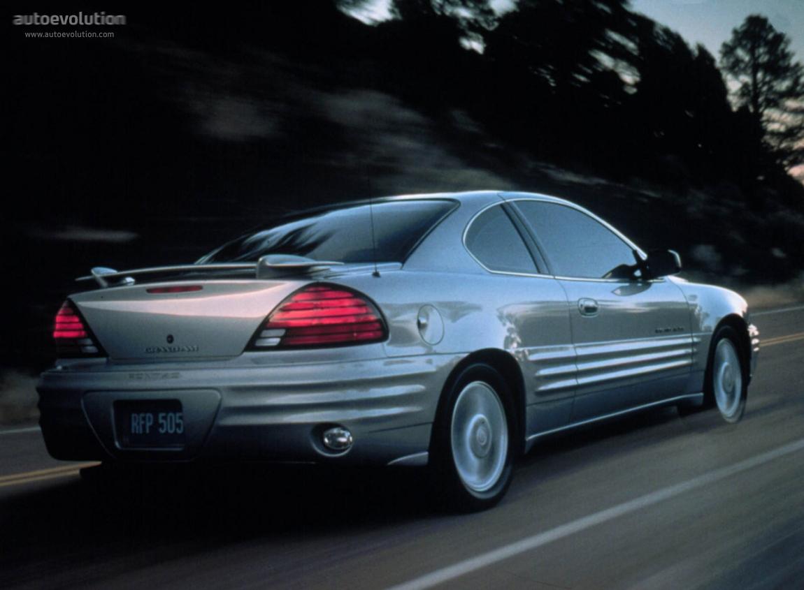 PONTIAC Grand Am Coupe - 1998, 1999, 2000, 2001, 2002, 2003, 2004