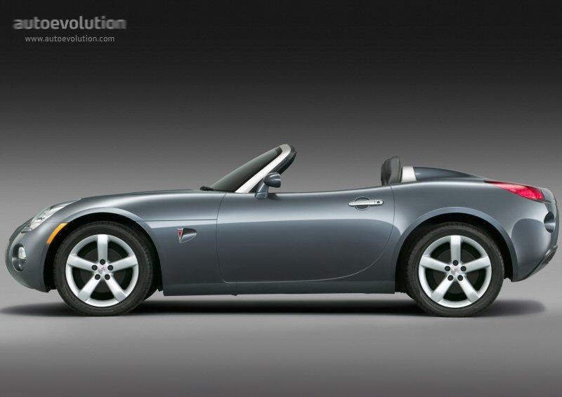 Pontiac Solstice Specs 2005 2006 2007 2008 2009 Autoevolution