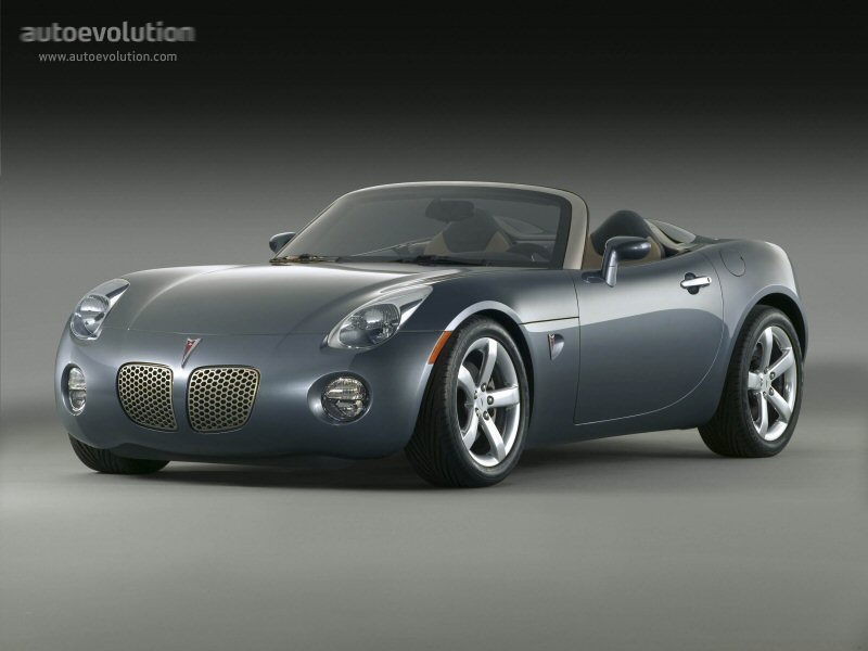 Pontiac Solstice Specs 2005 2006 2007 2008 2009