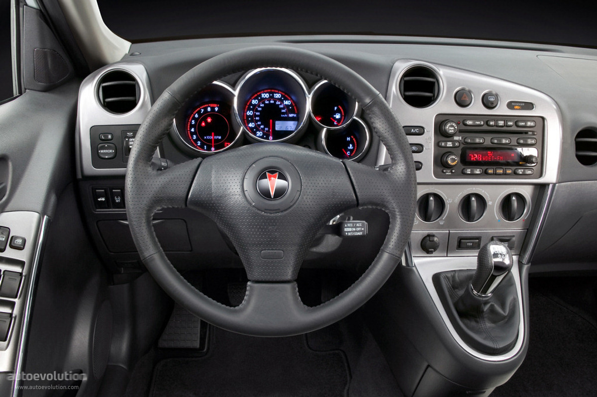 Pontiac Vibe Specs 2002 2003 2004 2005 2006 2007