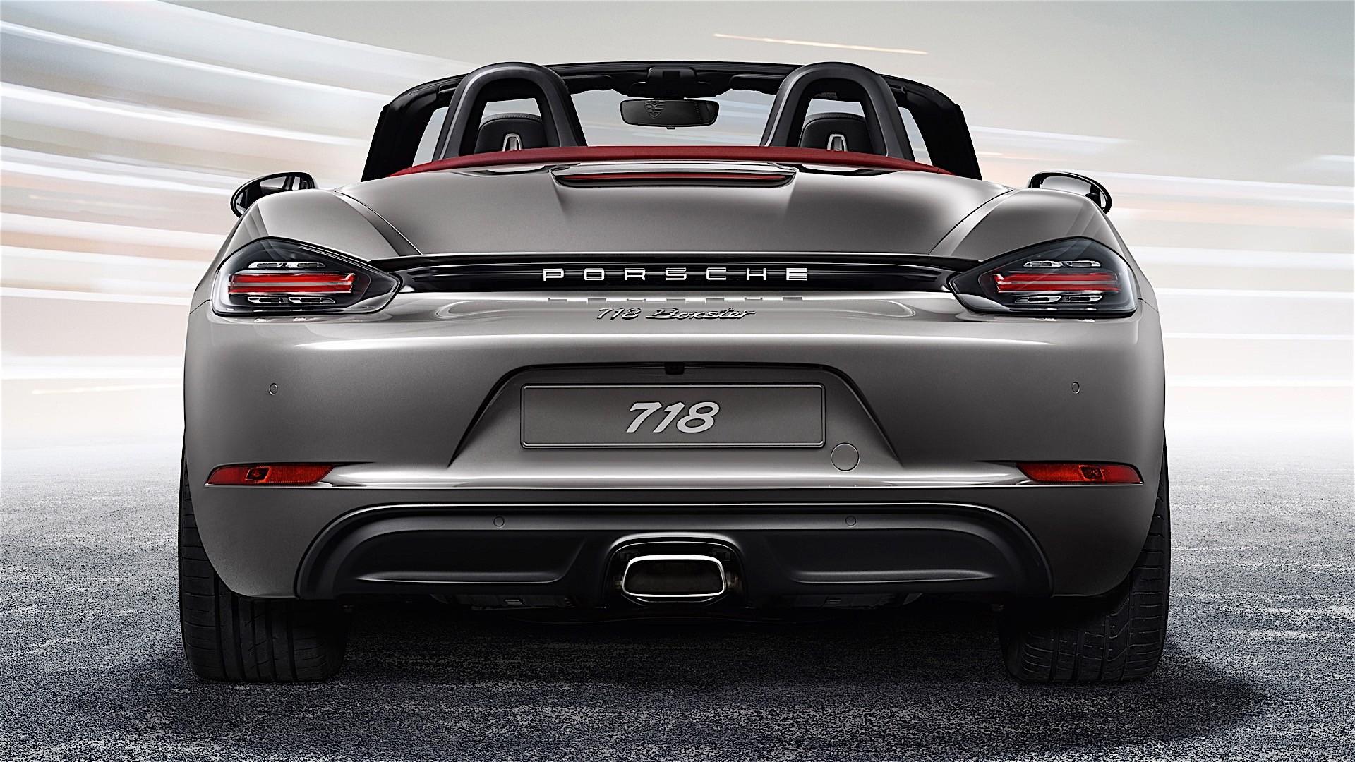 Porsche 718 Boxster 2016 2017 Autoevolution