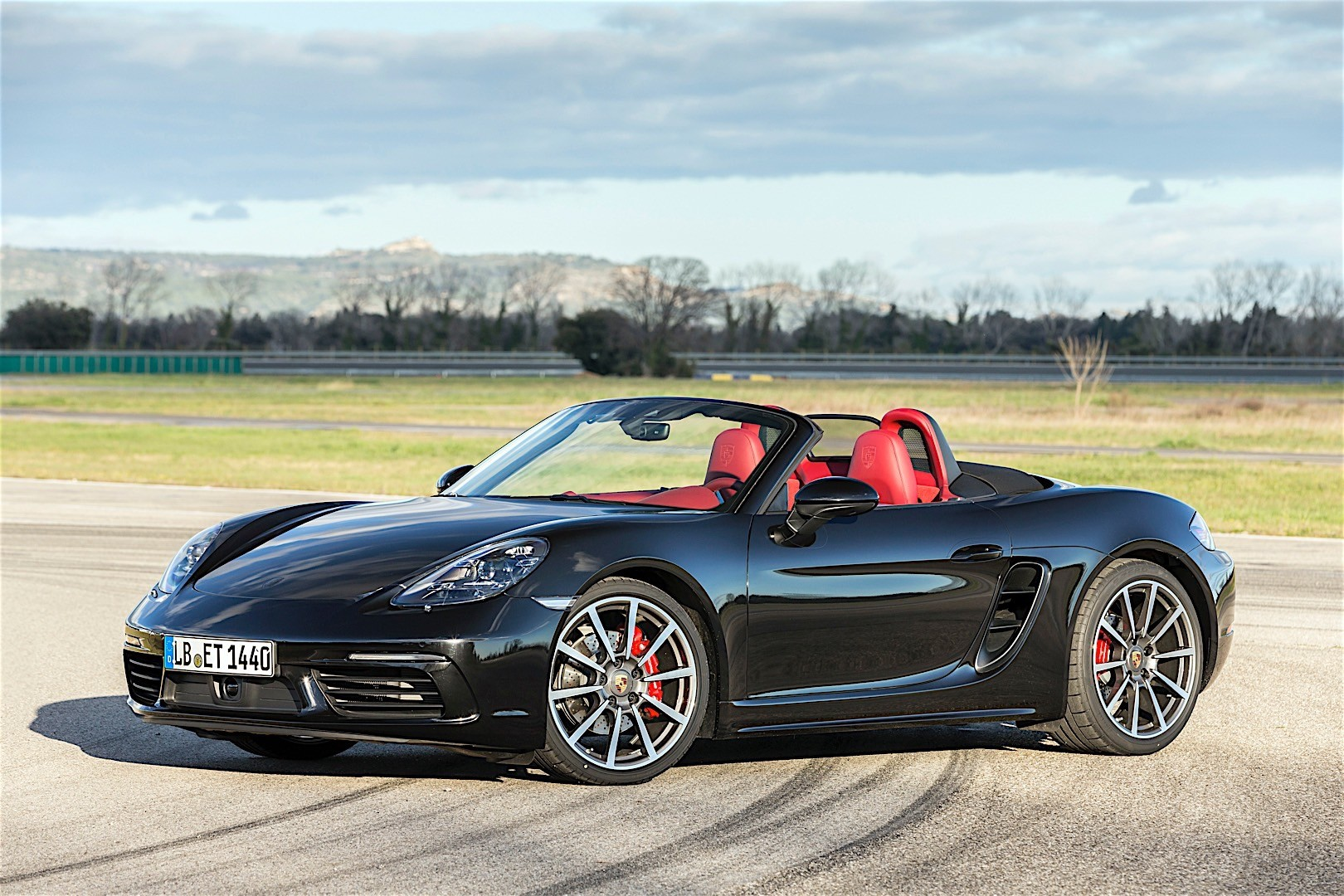porsche 718 boxster s 2016 autoevolution. Black Bedroom Furniture Sets. Home Design Ideas