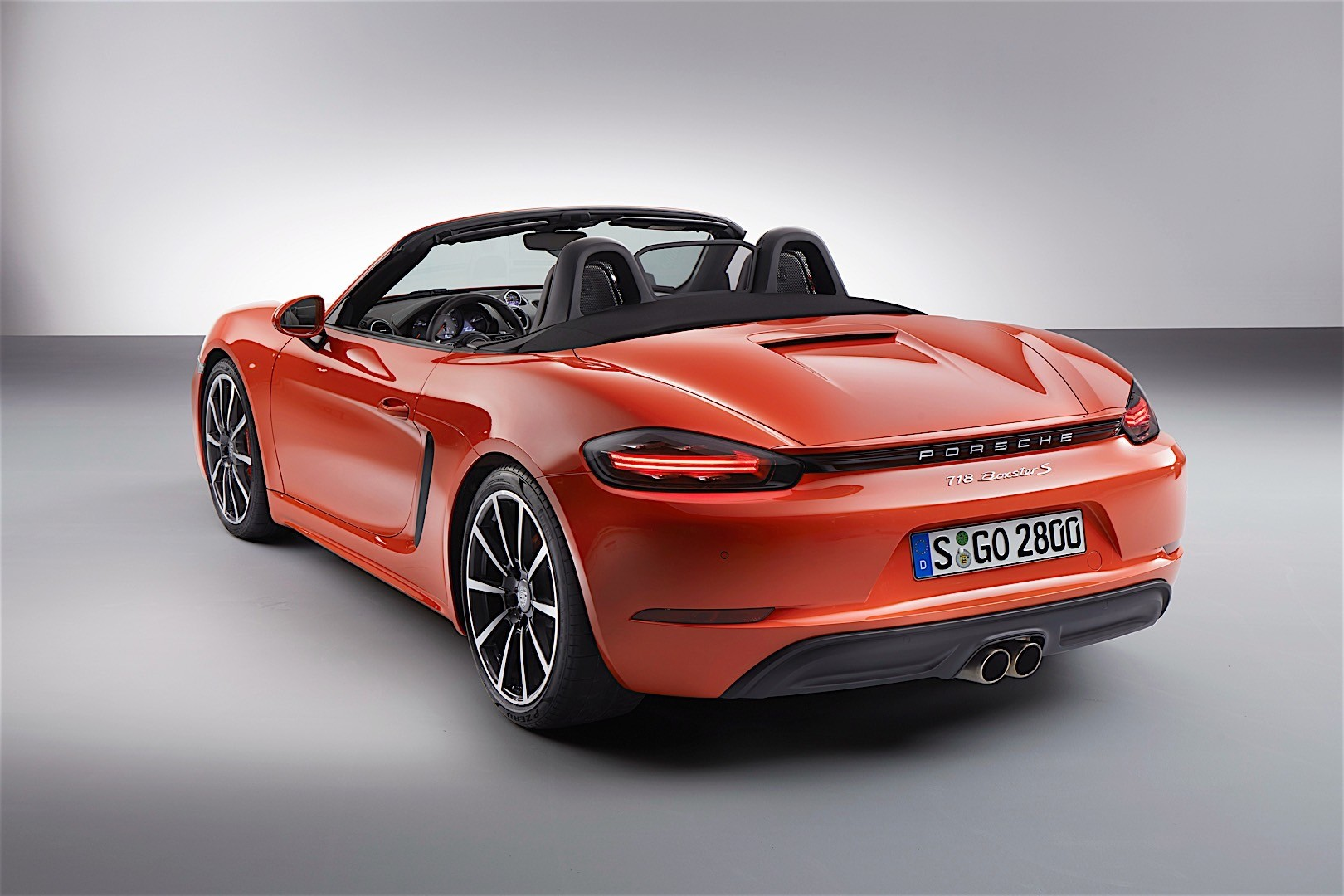 porsche 718 boxster s 982 specs photos 2016 2017. Black Bedroom Furniture Sets. Home Design Ideas
