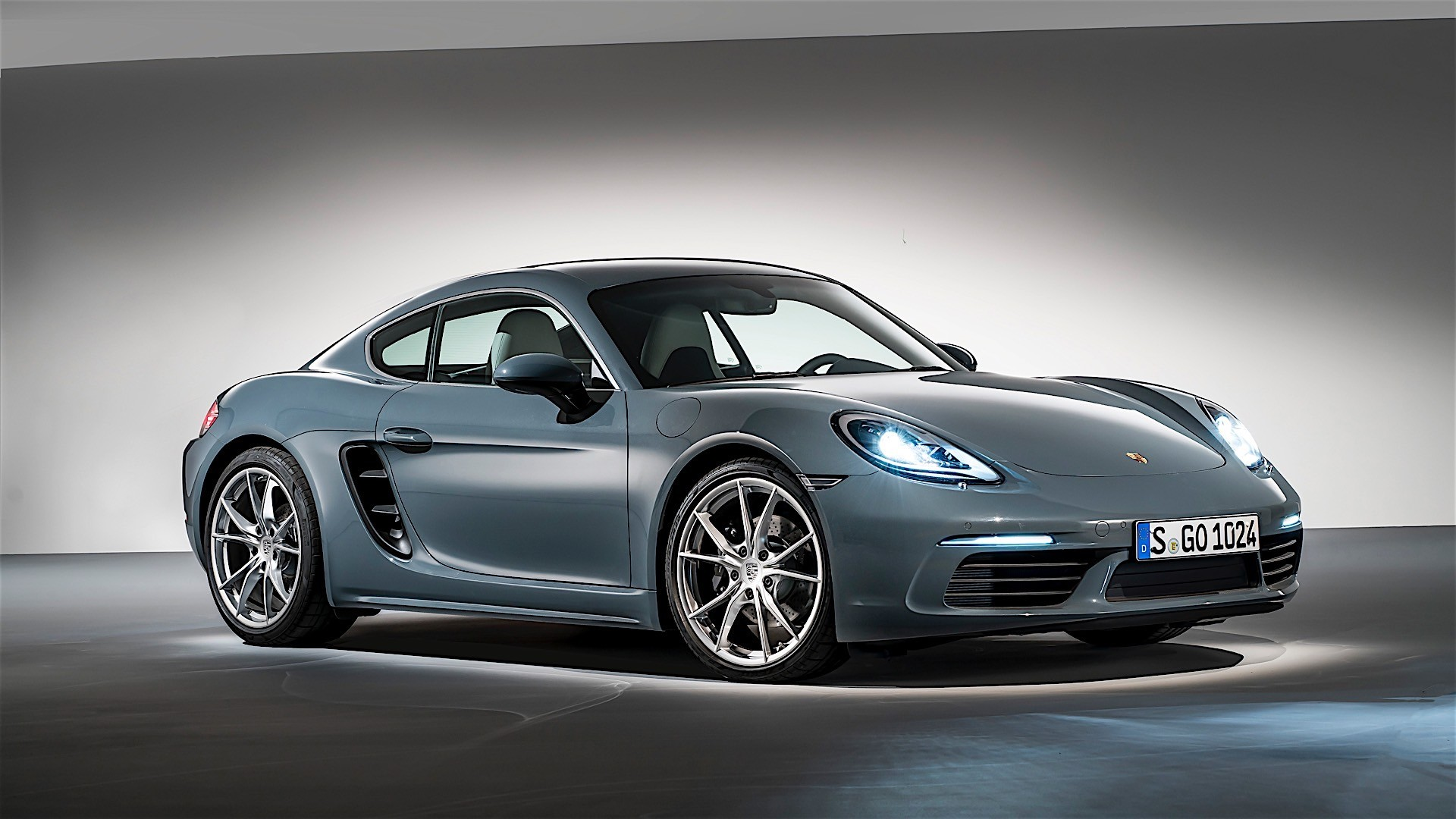 porsche 718 cayman 982c 2016 autoevolution. Black Bedroom Furniture Sets. Home Design Ideas
