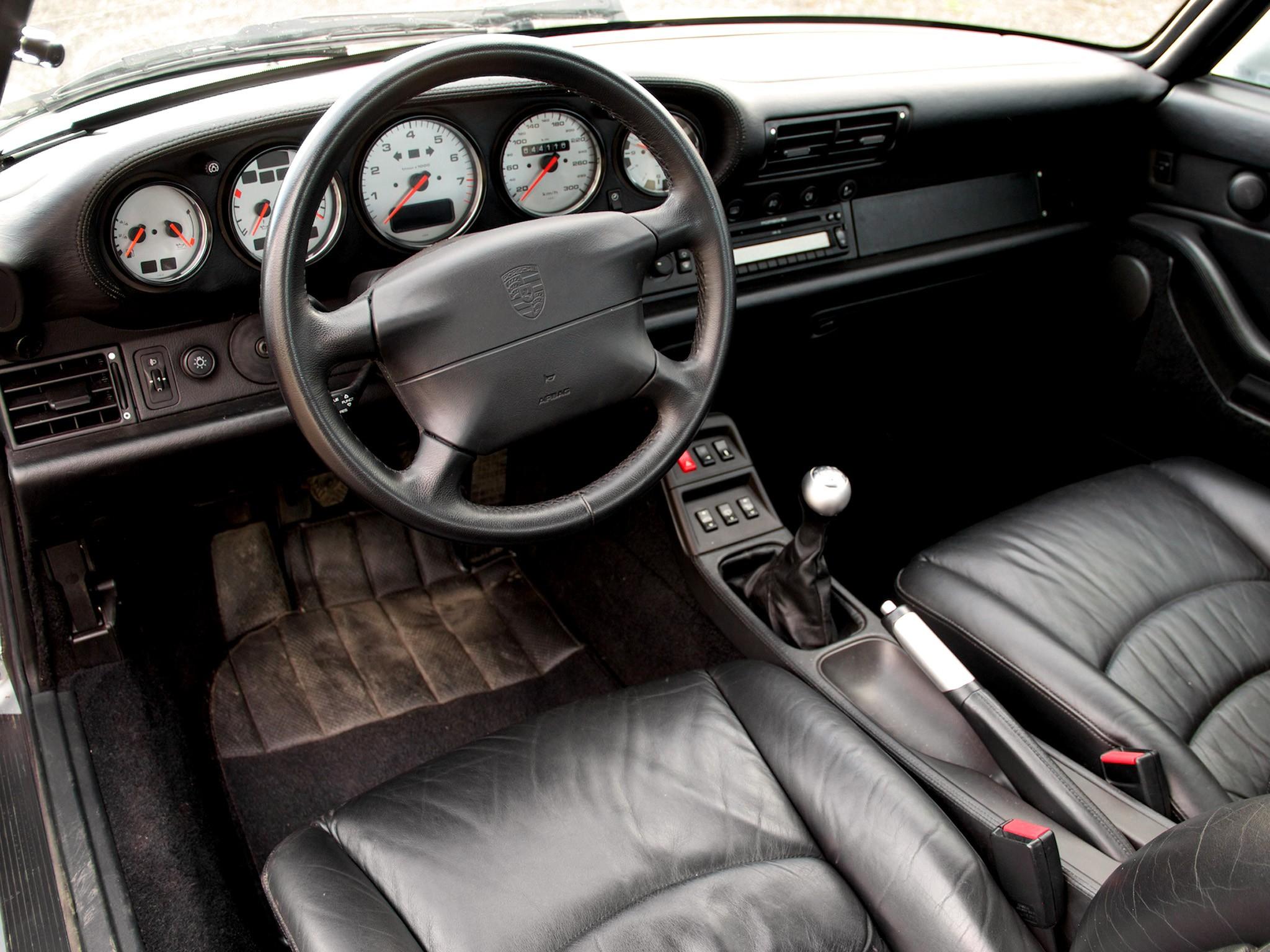 porsche 911 carrera 4 (993) specs - 1994, 1995, 1996, 1997