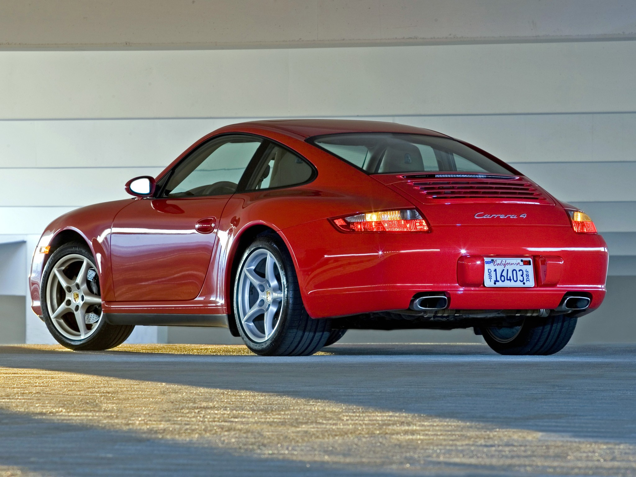 Porsche 911 Carrera 4 997 2005 2006 2007 2008
