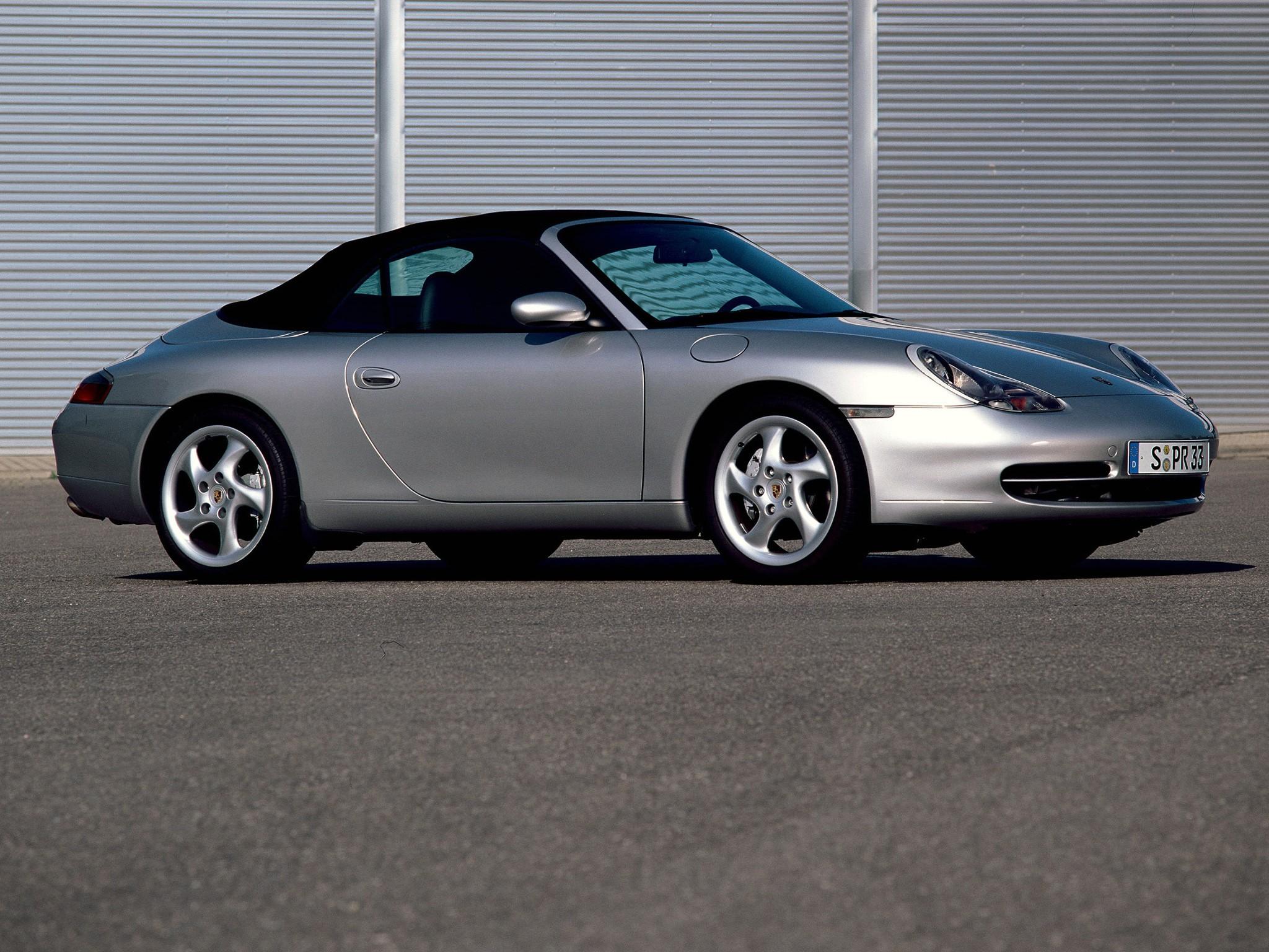 PORSCHE 911 Carrera 4 Cabriolet 996  1998, 1999, 2000, 2001