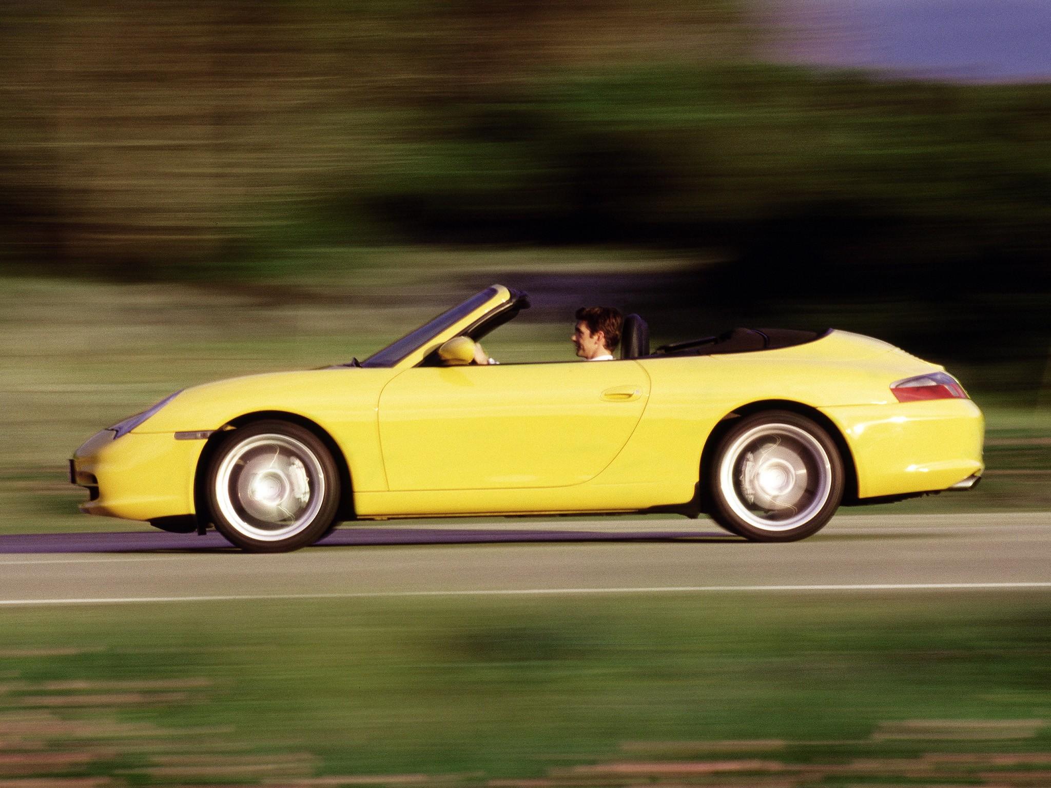 PORSCHE 911 Carrera 4 Cabriolet 996  2001, 2002, 2003, 2004