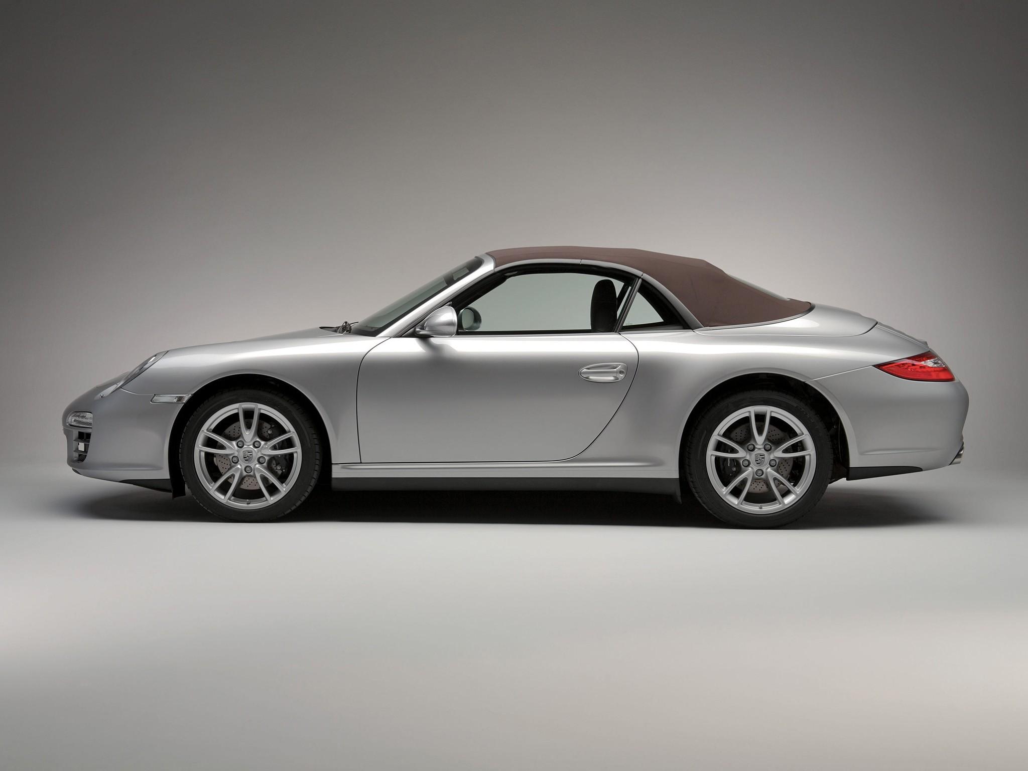 Porsche 911 Carrera 4 Cabriolet 997 Specs 2008 2009