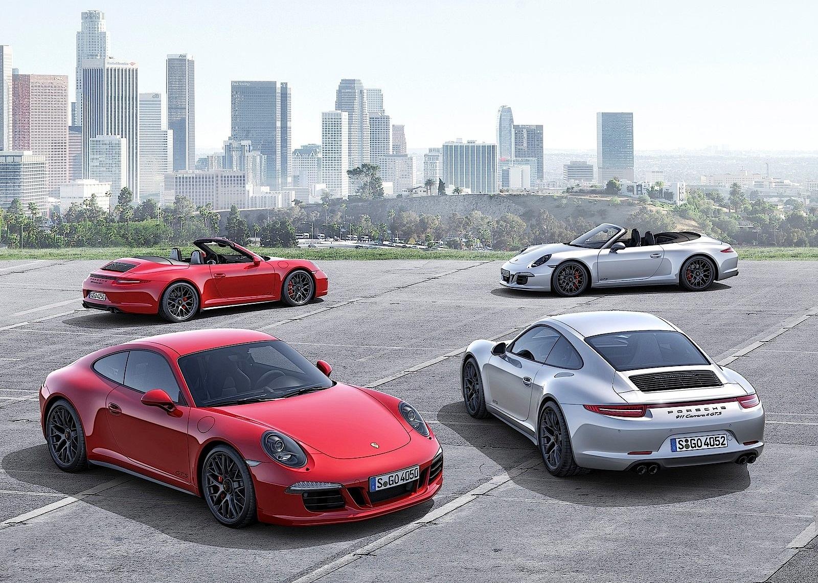 Porsche 911 carrera 4 gts cabriolet 2014 2015 2016 autoevolution