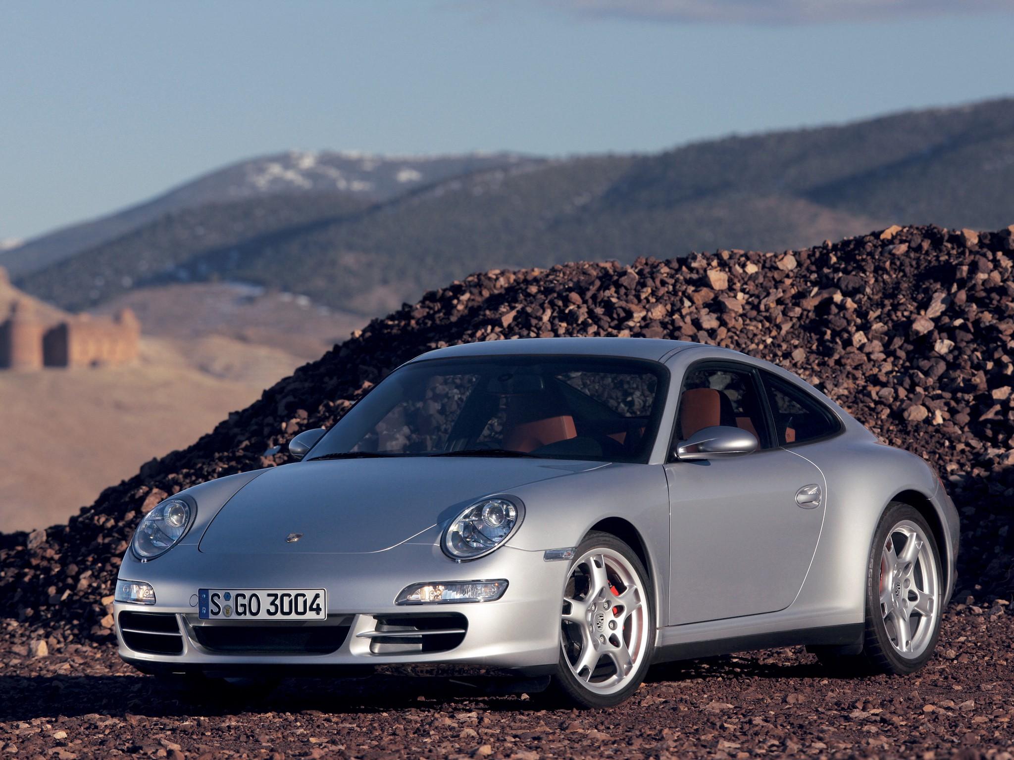 Porsche 911 Carrera 4s 997 Spezifikationen Fotos 2005 2006