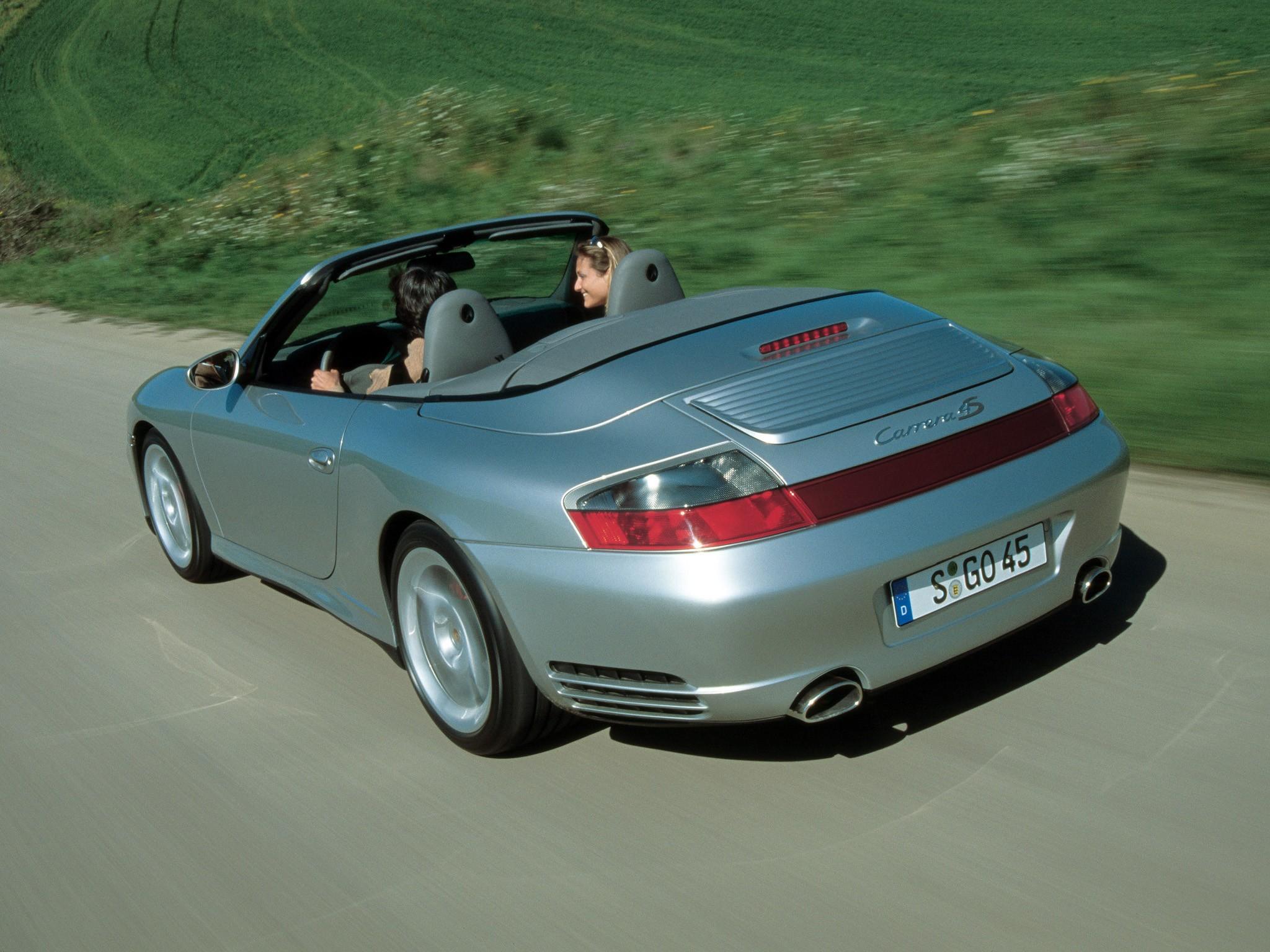 PORSCHE 911 Carrera 4S Cabriolet 996  2003, 2004, 2005
