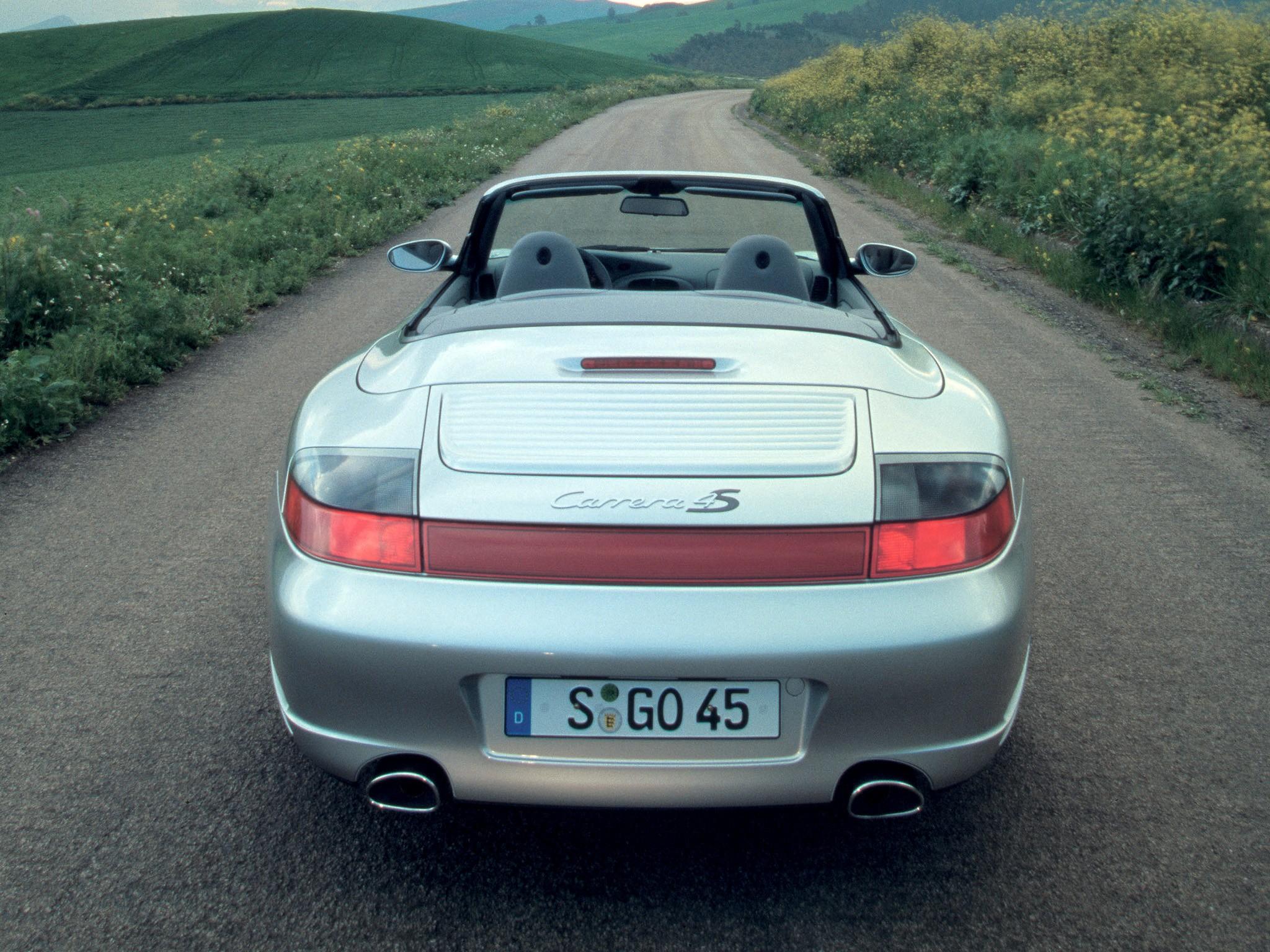 Porsche 911 Carrera 4s Cabriolet 996 2003 2004 2005
