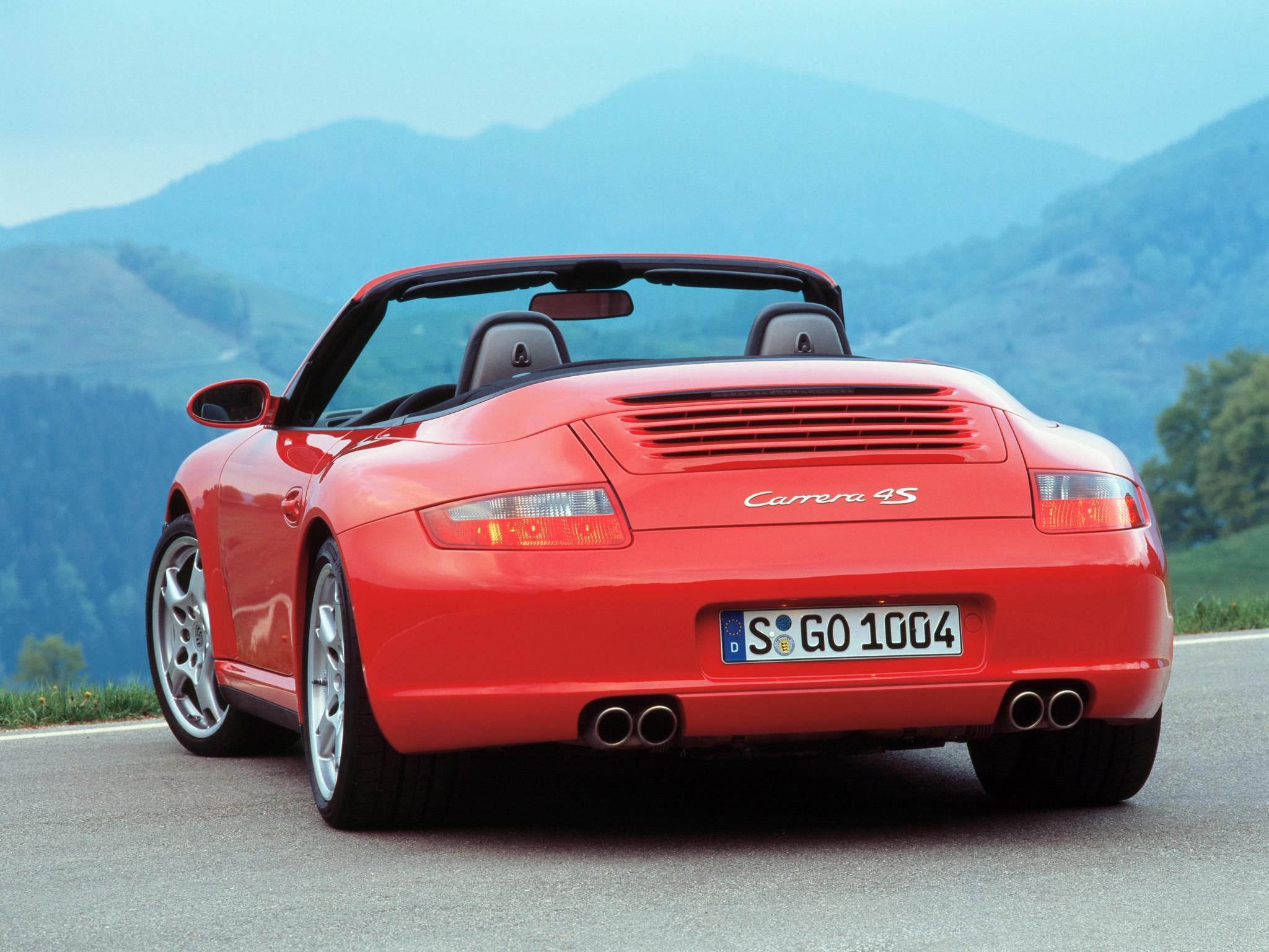 porsche 911 carrera 4s cabriolet 997 2005 2008